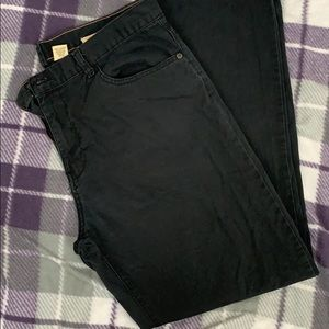 timberland black jeans s z36/32